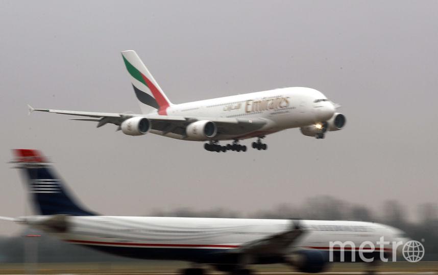 Airbus A380 авиакомпании Emirates. Фото Getty