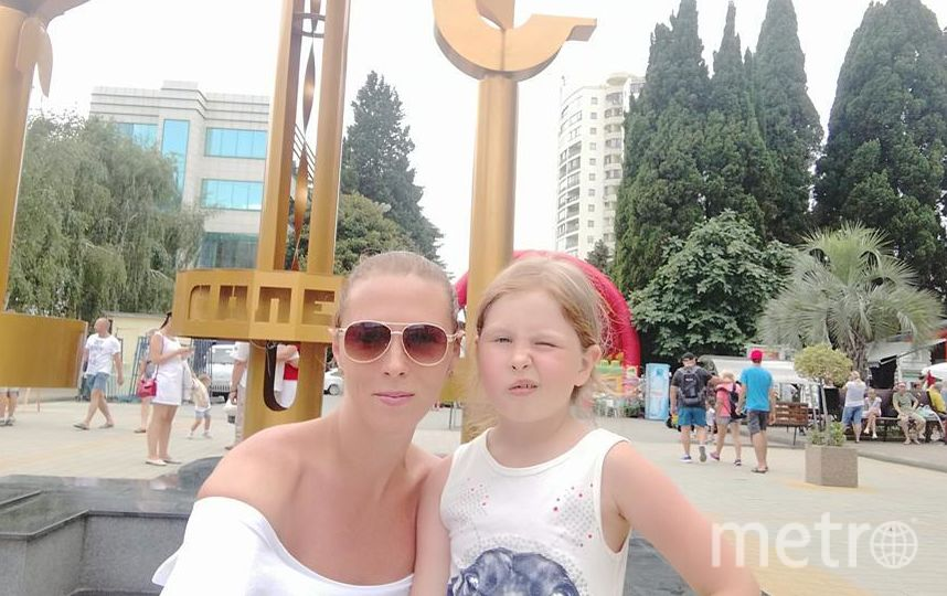 Я с дочкой Варварой провела лето в Адлере. Фото Алексеева Анна.