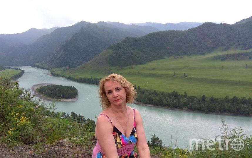 Хинина Елена Михайловна, 52 года. Санкт- Петербург. Этим летом я была на Алтае. Впечатлений- горы!