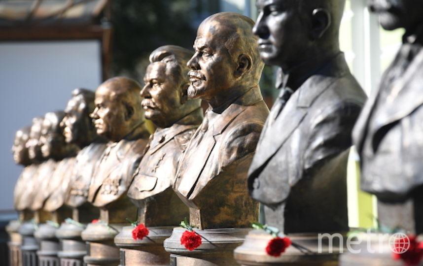 Аллея правителей. Фото РИА Новости