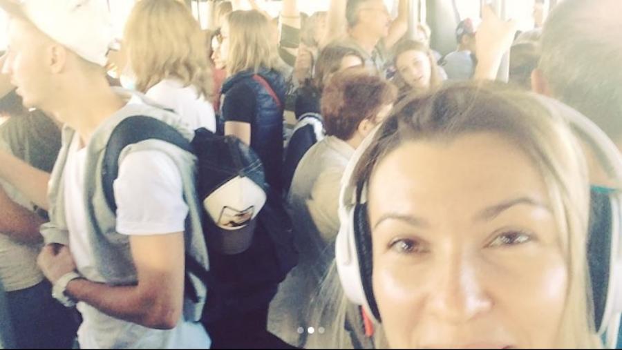 Домодедово. Фото Скриншот видео  Instagram/natalya_purgaeva
