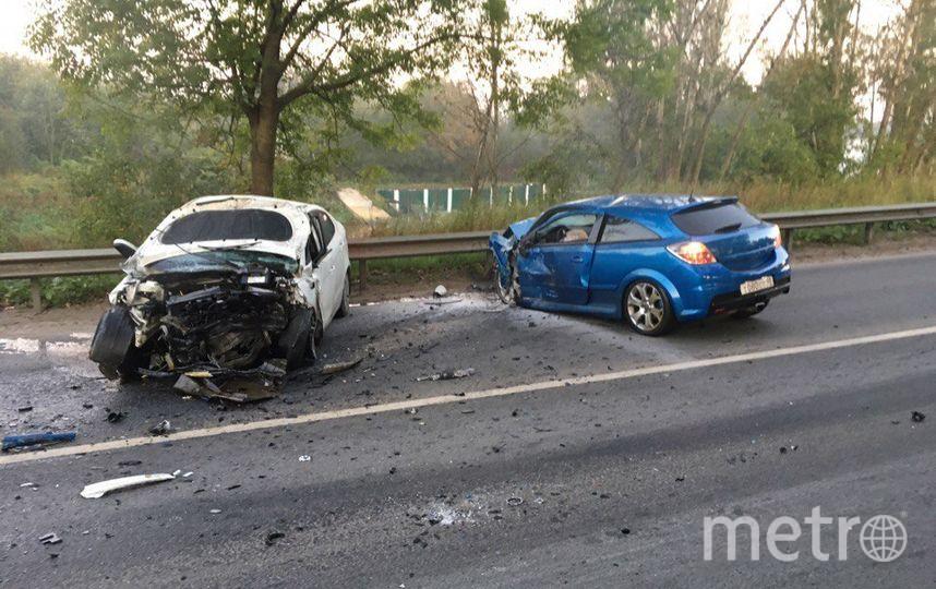 Два водителя погибли вДТП под Петербургом