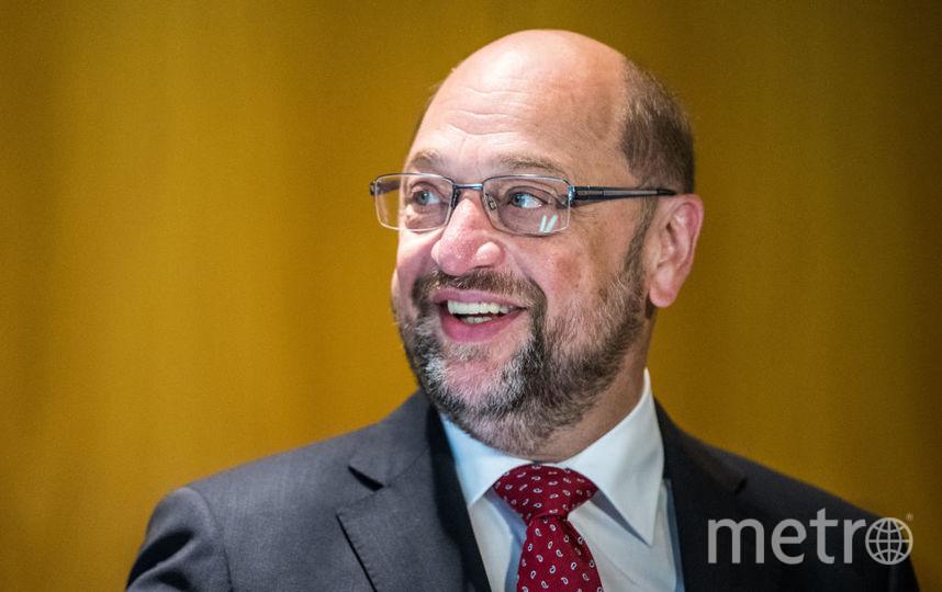 Мартин Шульц, член Социал-демократической партии Германии, на выборах. Фото Getty