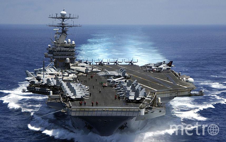 USS Carl Vinson. Фото Getty