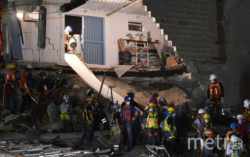 Землетрясение в Мексике. Фото AFP