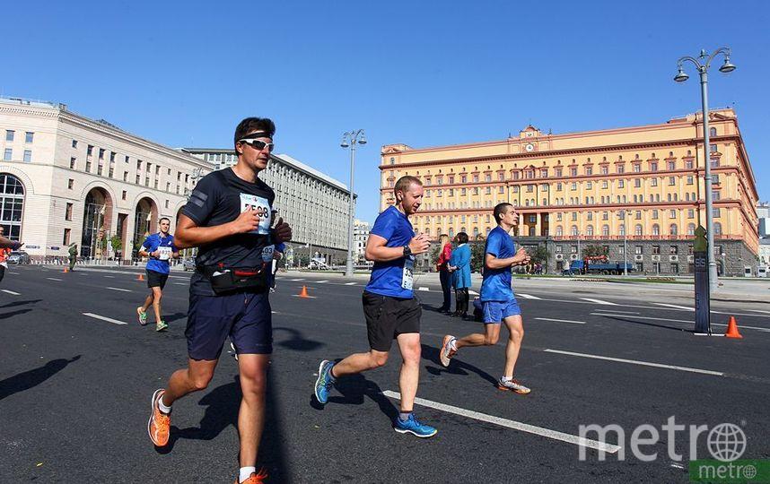 """Пятый Московский марафон. Фото Василий Кузьмичёнок, """"Metro"""""""