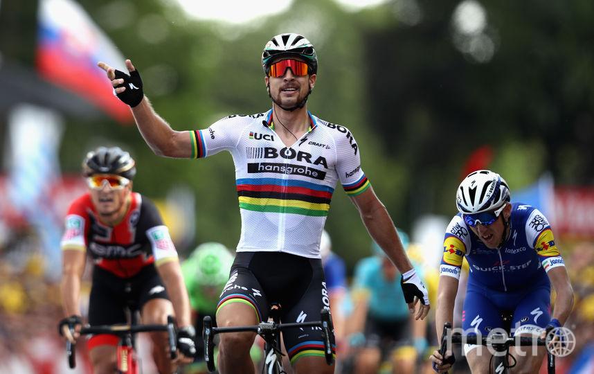 Словацкий велогонщик Петер Саган. Фото Getty