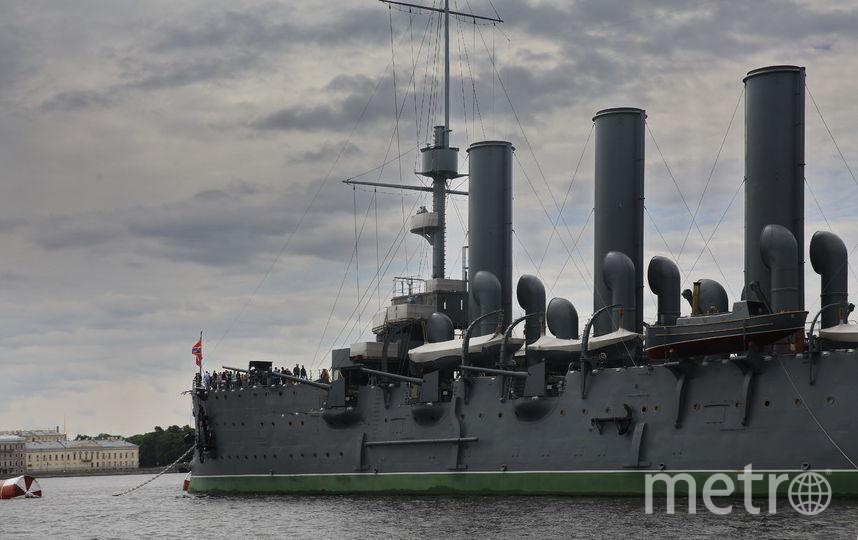 Крейсер «Аврора» – один из символов революции 1917 года. Фото Светлана Холявчук, Интерпресс