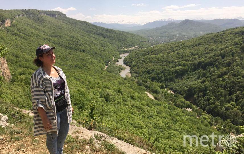 """Этим летом я была в Адыгее, поднимались в горы, спускались в ущелья, такую красоту я еще не видела. Фото Полина Плотникова, """"Metro"""""""