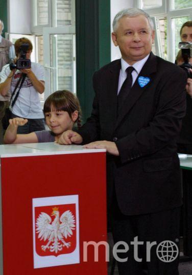 Ярослав Качиньский. Фото РИА Новости