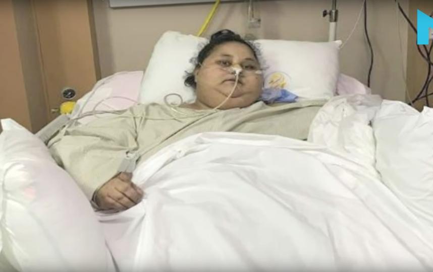 Эман Абд эль-Ати. Фото NYOOOZ TV, Скриншот Youtube