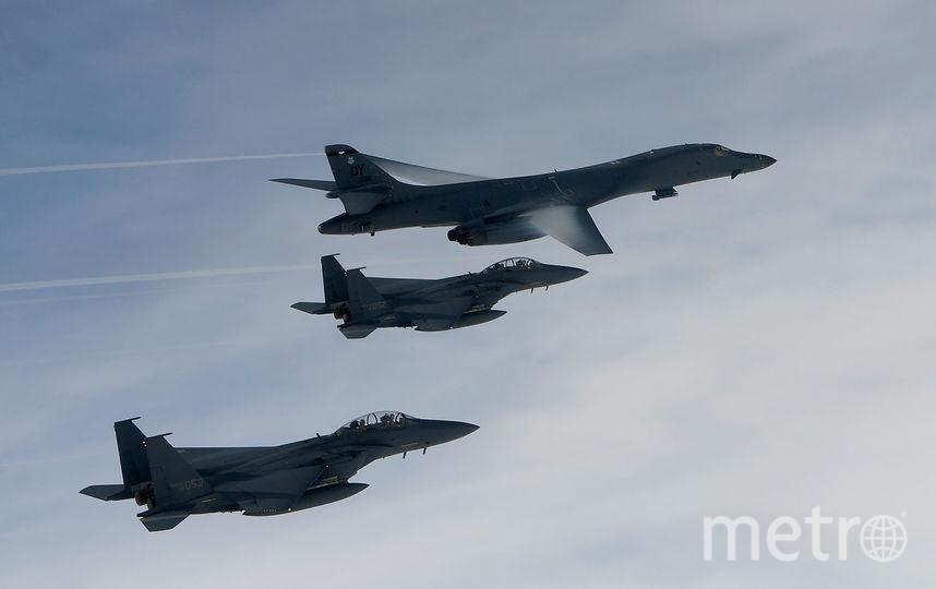 Американский бомбардировщик B1-B. Фото Getty