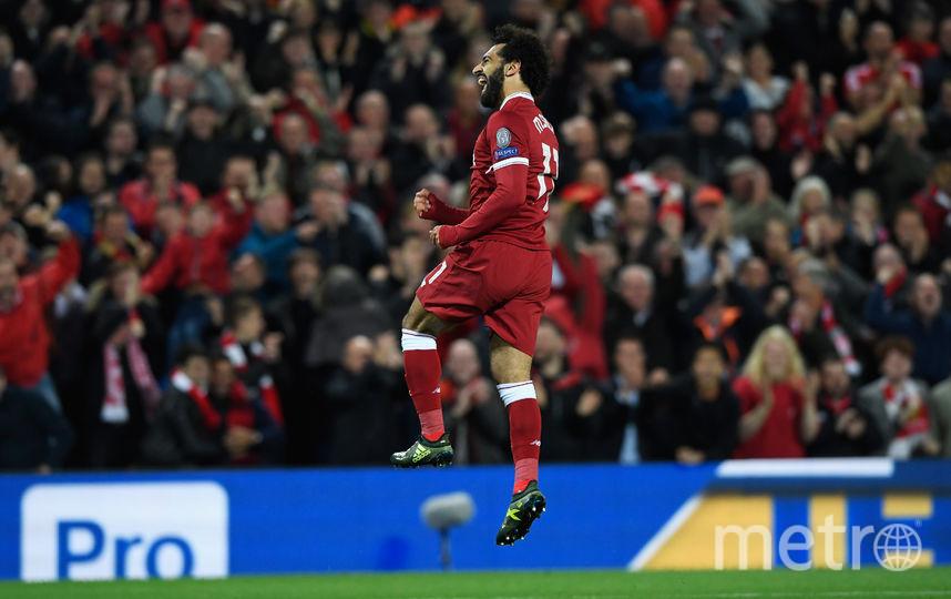 """Нападающий """"Ливерпуля"""" Салах является одним из самых быстрых футболистов чемпионата Англии. Фото Getty"""