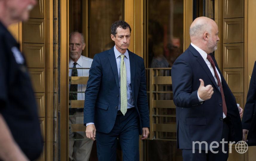 Суд над Энтони Уинером. Фото AFP
