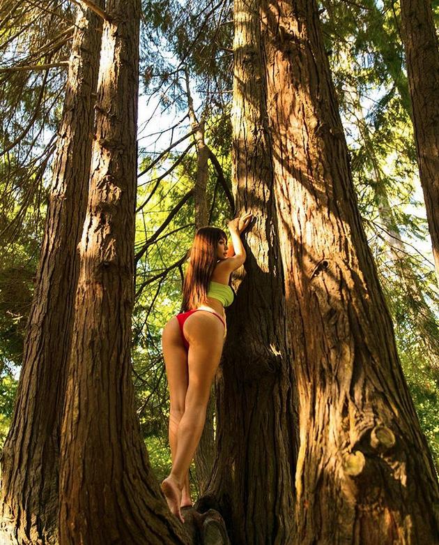 Мария Лиман - фотоархив. Фото все - скриншот www.instagram.com/liman_maria/