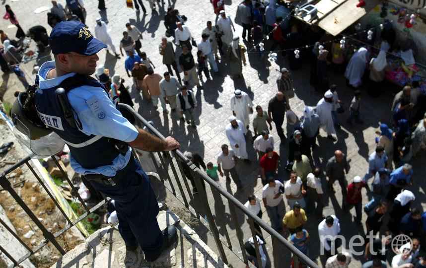 Израильский полицейский. Фото Getty