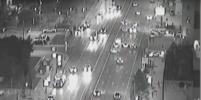 Опубликовано видео наезда Mercedes на полицейского в центре Москвы