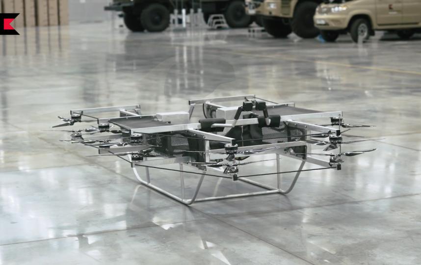 Новый летательный аппарат пока проходит обкатку. Фото kalashnikov.media