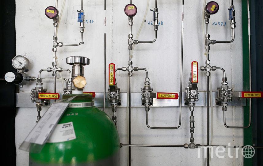 Газовый балон. Фото Getty