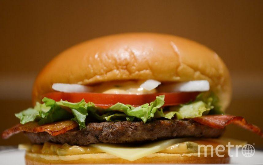Бургер. Фото Getty