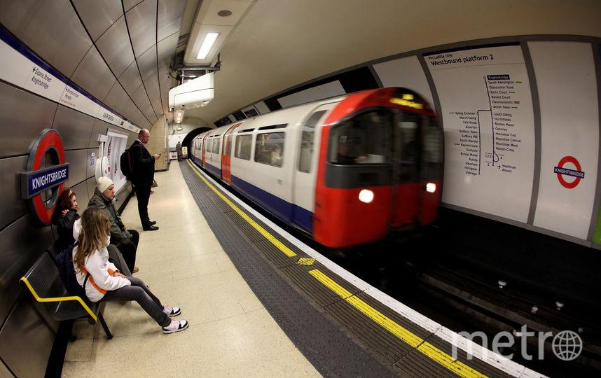 Лондонский метрополитен. Фото Getty