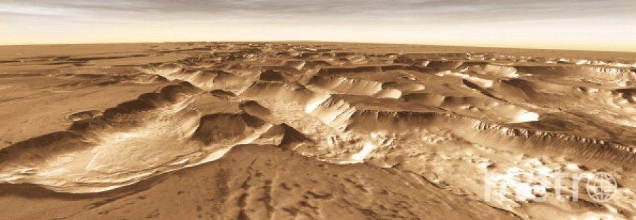 Поверхность Марса. Фото Getty