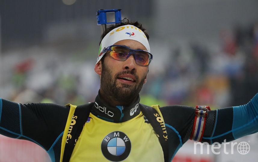 Двукратный олимпийский чемпион, известный биатлонист Мартен Фуркад. Фото Getty