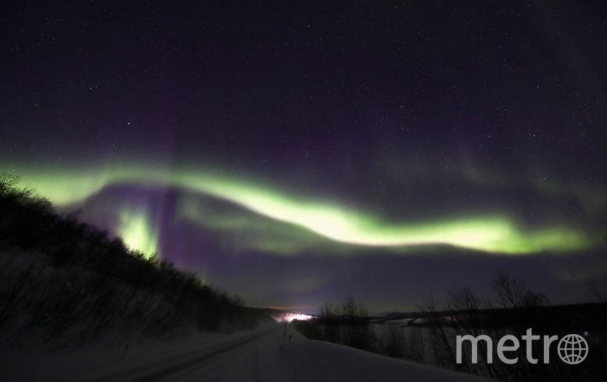 Северное сияние в Норвегии. Фото Getty