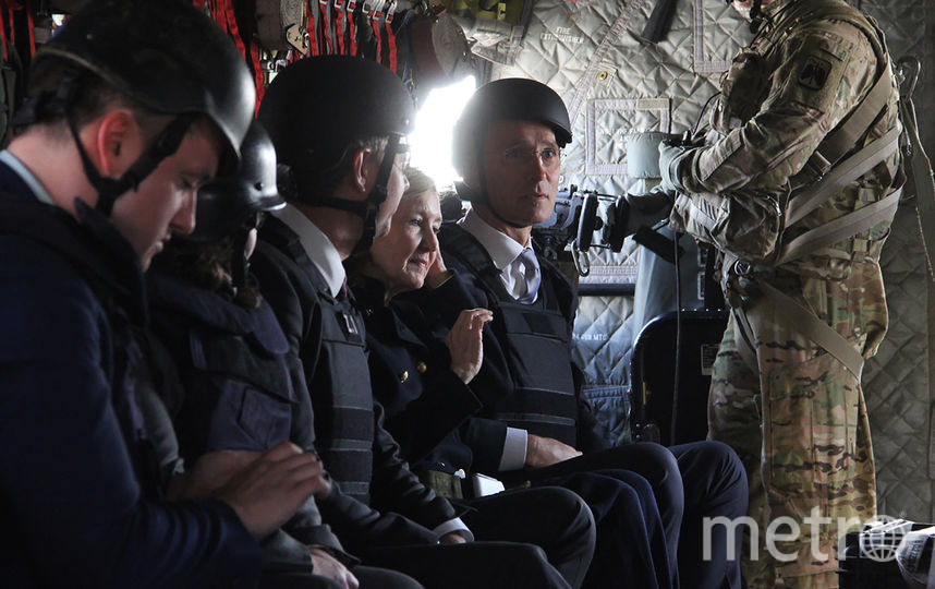 Визит Джеймса Мэттиса в Афганистан. Фото AFP