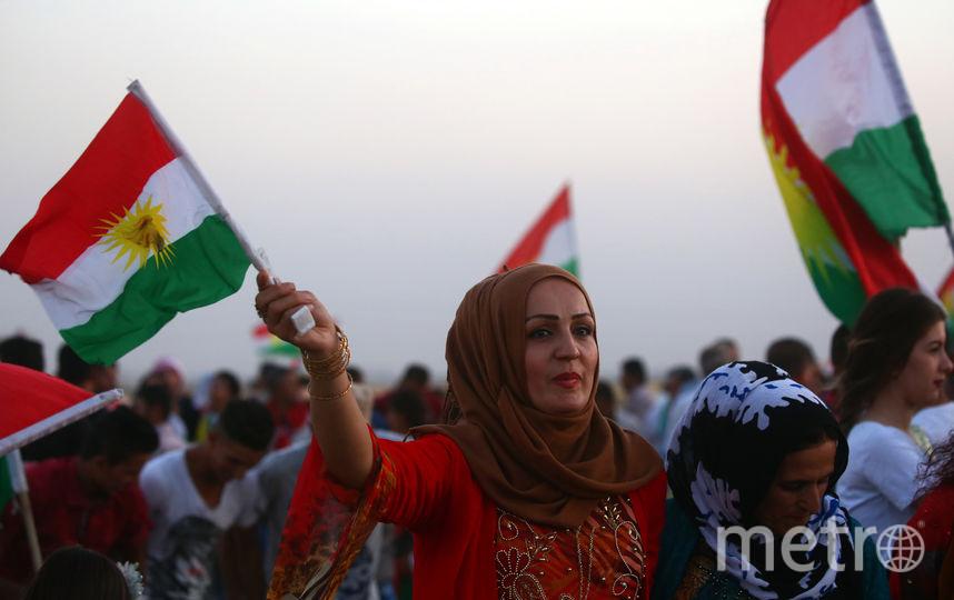 Итоги голосования не означают немедленного объявления об отделении от Ирака, однако курдские лидеры намерены начать переговоры с Багдадом. Фото AFP