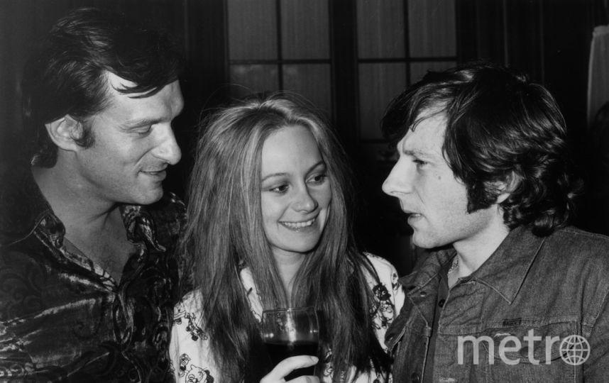 Хью Хефнер. 1970 год. С Романом Полански. Фото Getty