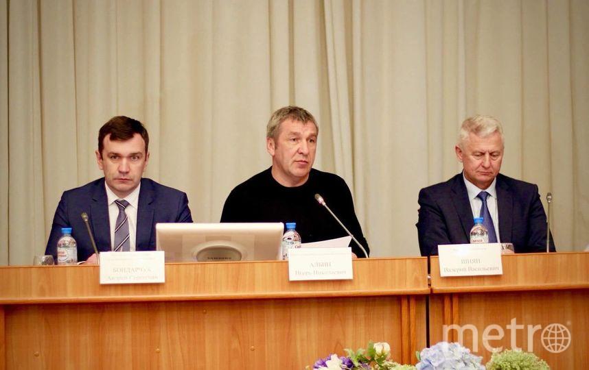 Заседание комиссии по подготовке и проведению отопительного периода в Петербурге.