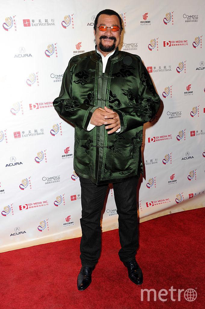 Актёр Стивен Сигал. Фото Getty