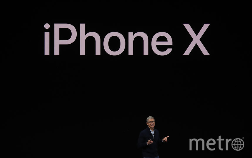 iPhone X. Фото Getty