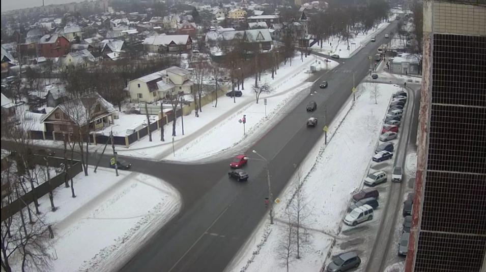 Точку в споре двух автомобилистов поставил суд - на основании видеозаписи. Фото https://vk.com/krasnoe_selo