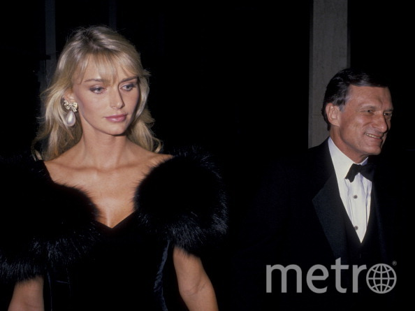 Хью Хефнер и Кимберли Конрад в 1988 году. Фото Getty