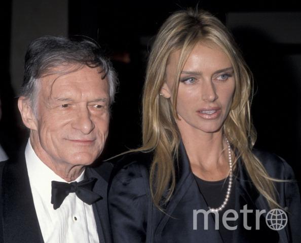 Хью Хефнер и Кимберли Конрад в 1998 году. Фото Getty