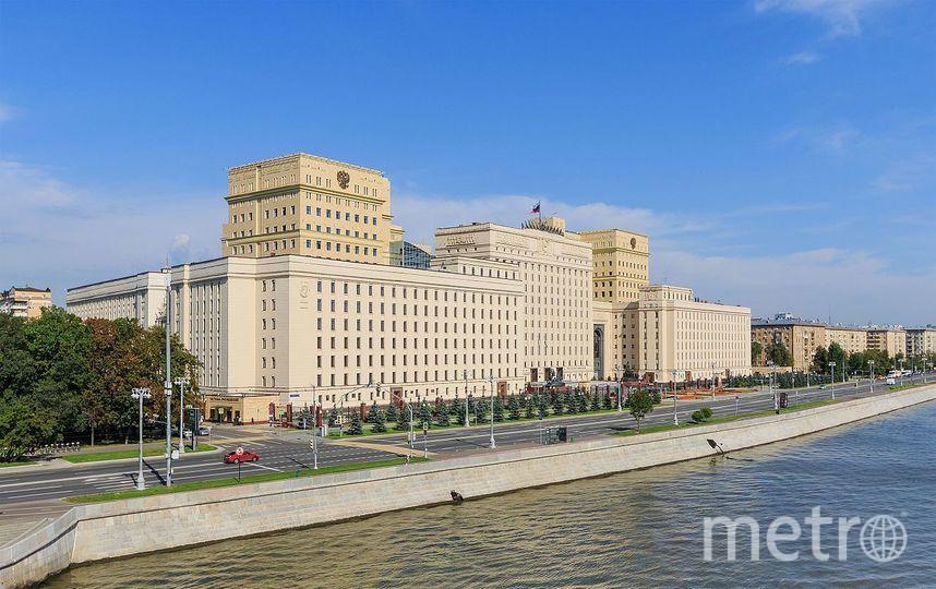 Здание Национального центра управления обороной РФ на Фрунзенской набережной в Москве. Фото Wikipedia/A.Savin
