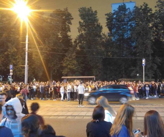 Эвакуация на концерте Thomas Mraz в Москве. Фото Instagram/iamnotyourbro