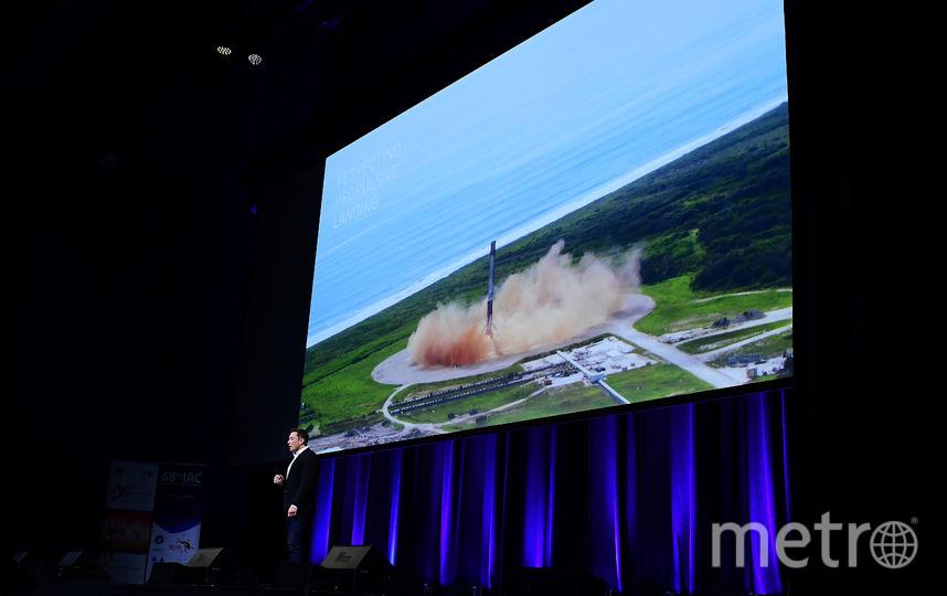 Ракета Илона Маска может доставить в любую точку земли менее, чем за час. Фото с конгресса в Австралии., Getty