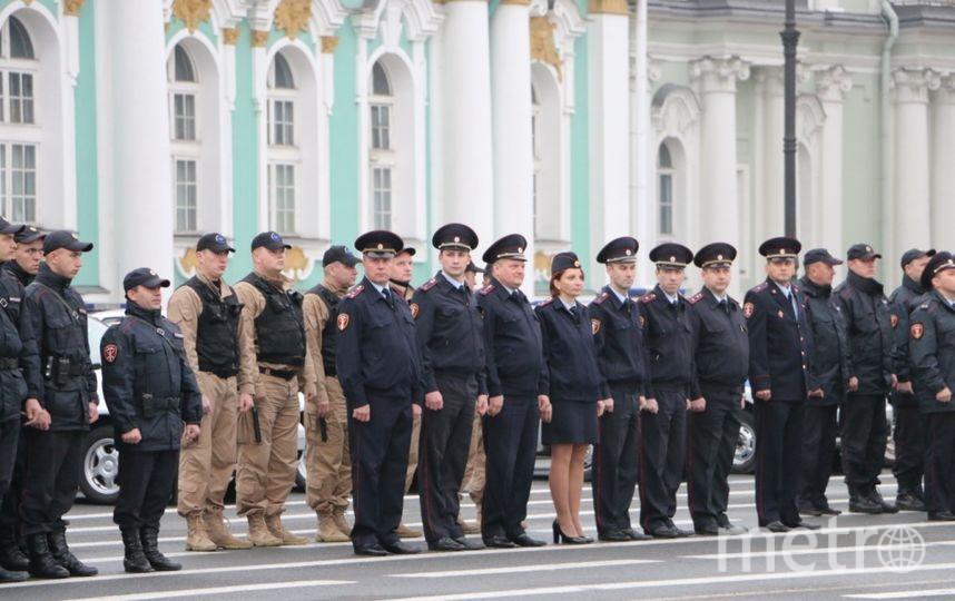 Смотр Росгвардии на Дворцовой. Фото предоставлены пресс-службой Росгвардии.