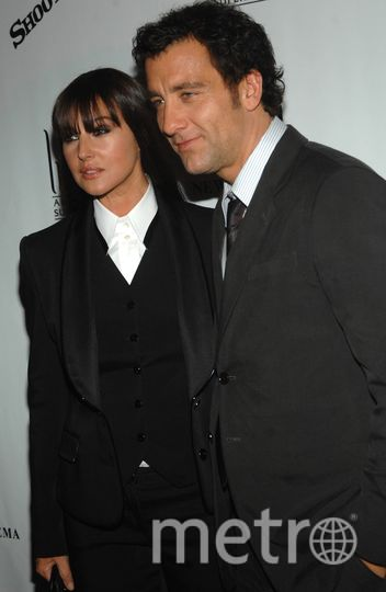 Монике Беллуччи и Клайв Оуэн. Фото Getty
