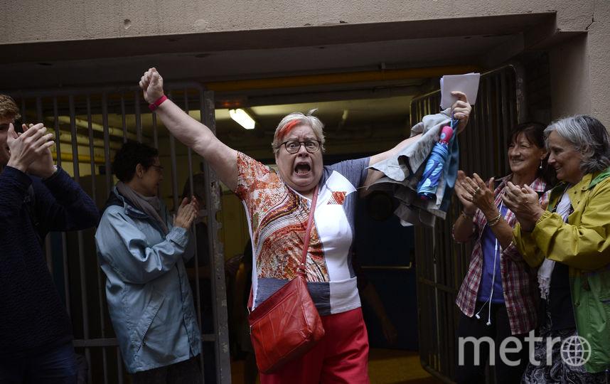 Референдум в Каталонии. Фото AFP
