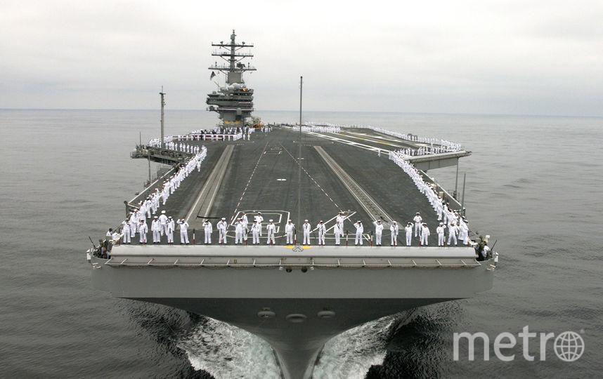 USS Ronald Reagan. Фото Getty