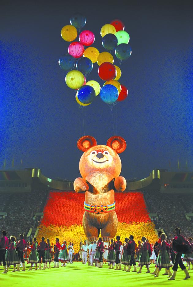 На бойкот Олимпиады-80 Советский Союз ответил бойкотом Олимпийских игр 1984 года в Лос-Анджелесе. Фото ТАСС