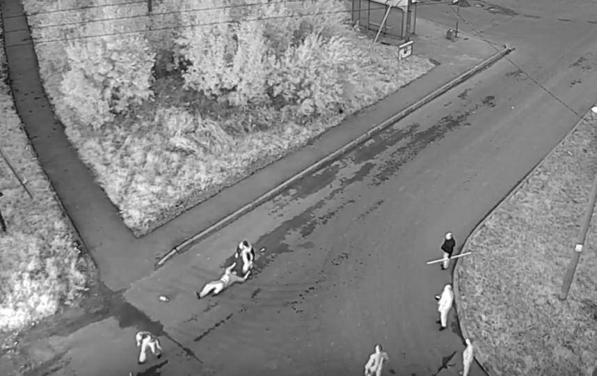 В Красном Селе такси на всей скорости врезалось в иномарку. Фото Скриншот YouTube