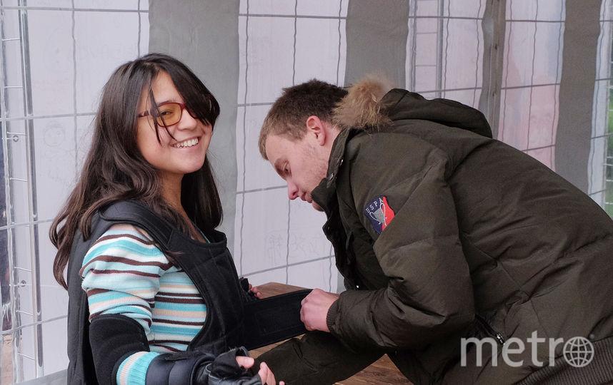 """Петербуржцам предложили """"залезть в кожу"""" 80-летнего человека."""