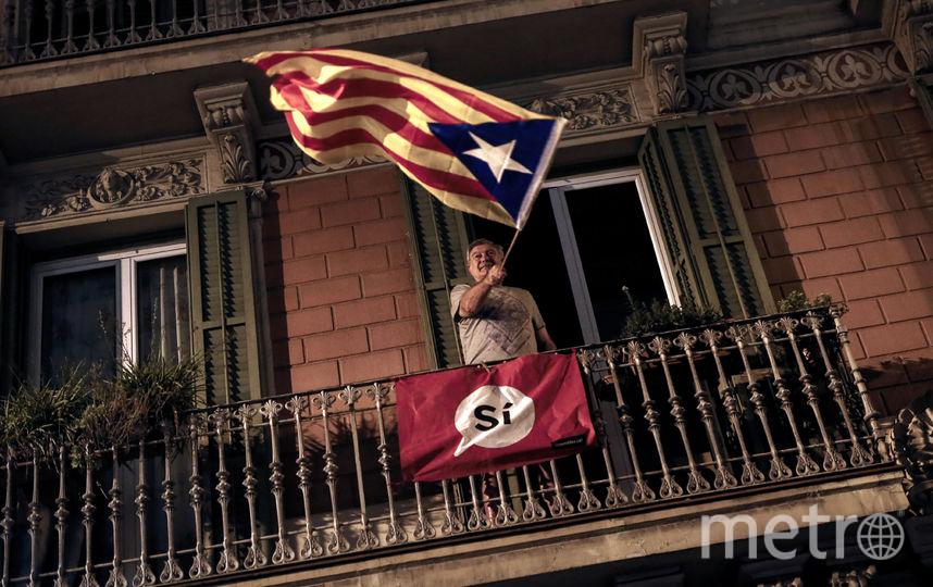 Известны результаты референдума в Каталонии. Фото AFP