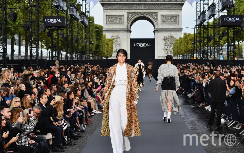 Дефиле L'Oreal Paris. Фото Getty