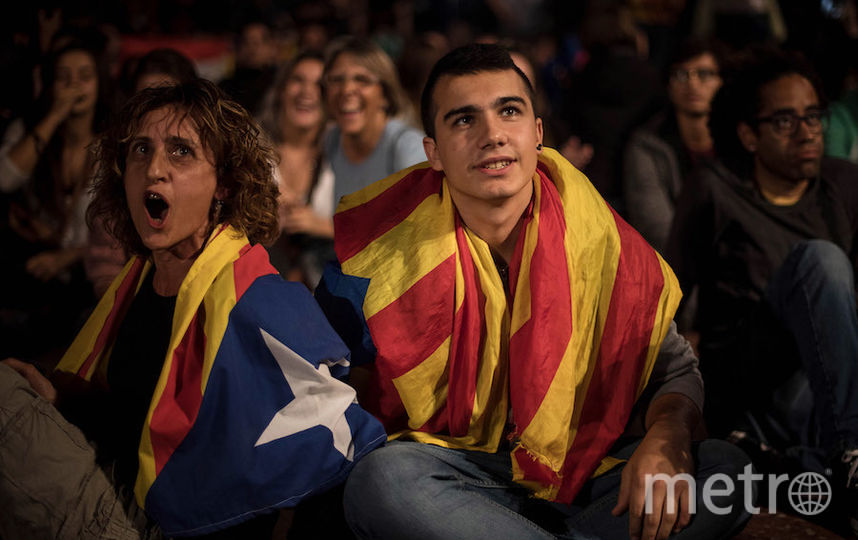 Референдум в Каталонии. Фото Getty